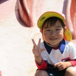 ♫小川公園であそんだよ♫